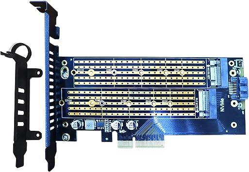 glotrends M.2 Adaptador para SSD NVMe y SSD SATA M.2, 2230 ...