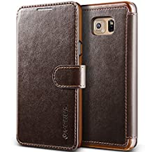 Galaxy Note 5 Case, Verus [Layered Dandy][Coffee Brown] - [Premium Leather Wallet][Slim Fit] For Samsung Galaxy Note 5