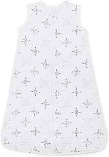 Aden + Anais  1.0 TOG sleeping bag, 100% cotton muslin, Lovestruck, 6-12m