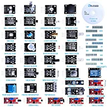 Elegoo 37-in-1 Sensor Module Kit for Arduino UNO R3, MEGA, NANO