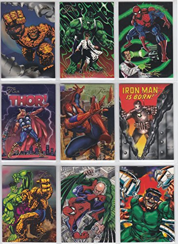 Flair '94 Presents the Marvel Universe Complete 150 Base Card Set Inaugural -