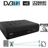 Crypto Redi 260P 1080P Full HD 1080P DVB-T2 décodeur TNT HD avec Dolby Full Multimédia Lecteur H.264 / MPEG-2/4
