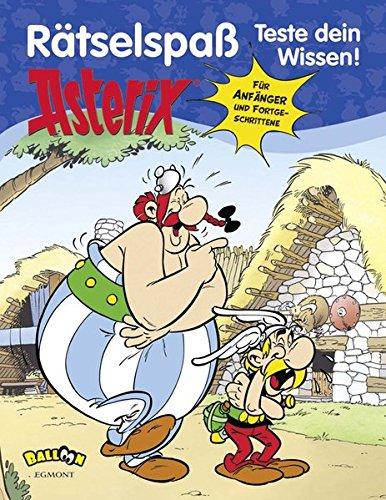 Asterix - Rätselspaß - Teste dein Wissen Taschenbuch – 17. Oktober 2013 Albert Uderzo Klaus Jöken Gudrun Penndorf Egmont Balloon