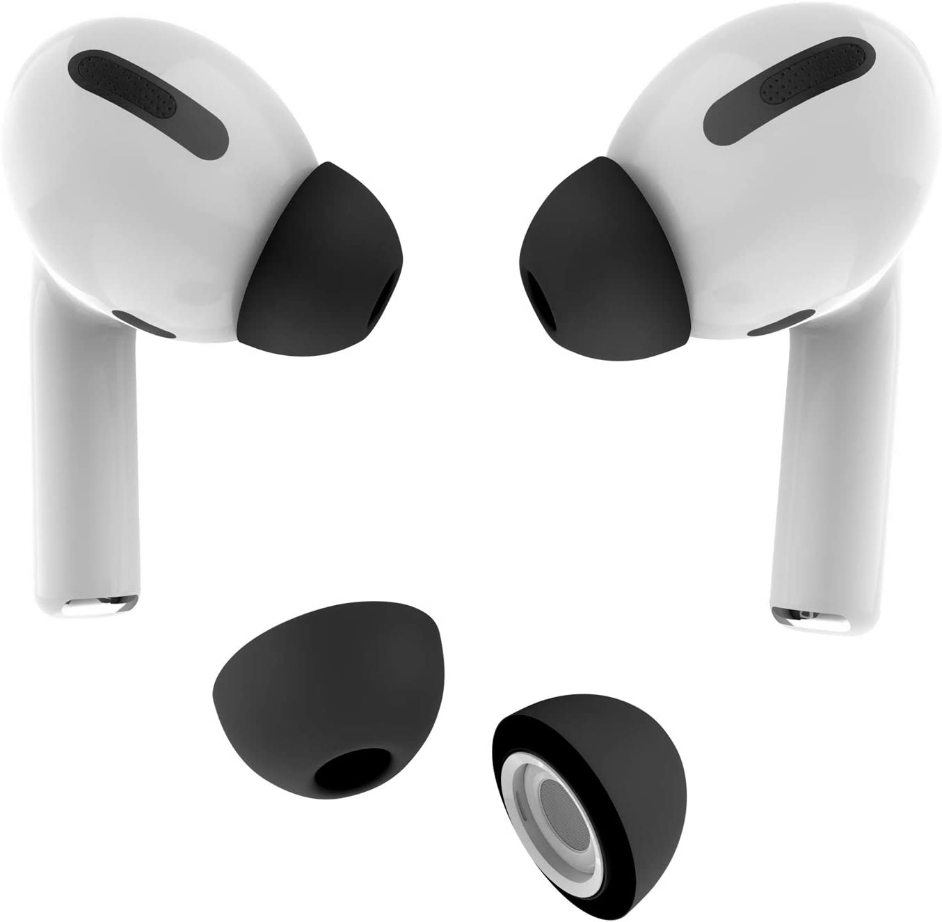 Amazon Com Allbingo Ear Tips Compatible With Airpods Pro 2 Pairs