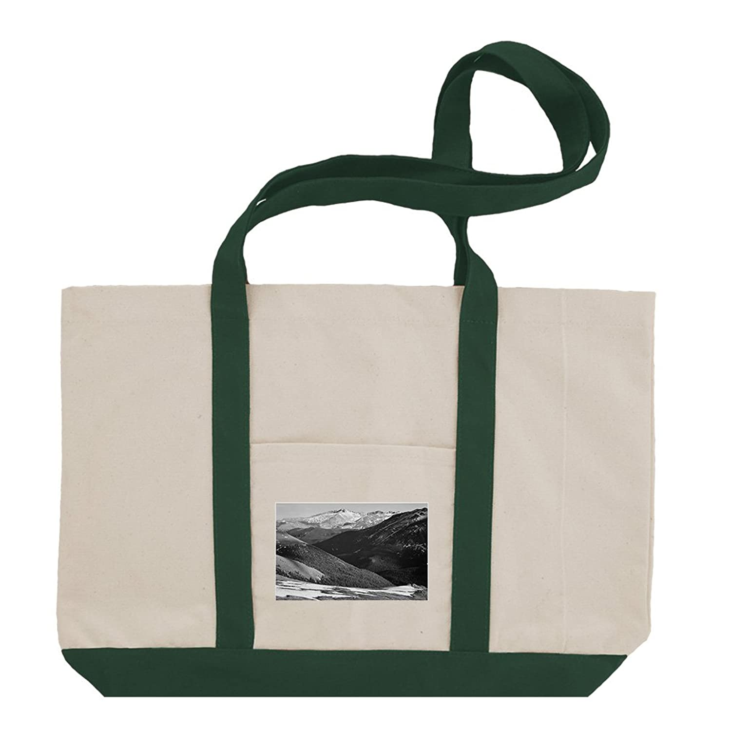 Rocky Mountain National Park #4 (Adams) Cotton Canvas Boat Tote Bag Tote