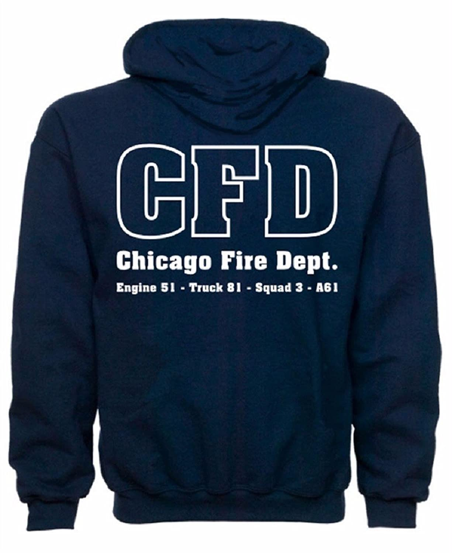 Chicago Fire Department Dutyスウェットシャツ B01HIUA7YS Small