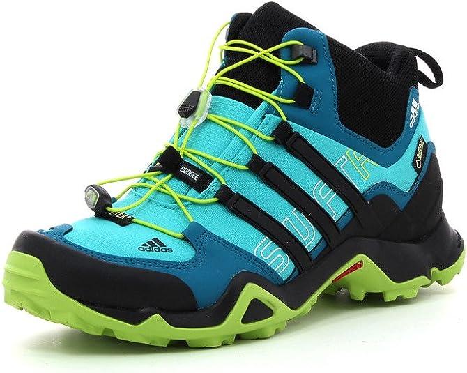 Adidas Terrex Swift R MID Gore - Zapatos de trekking para mujer, mujer, Terrex Swift R Mid GTX W, azul, 41 EU: Amazon.es: Deportes y aire libre