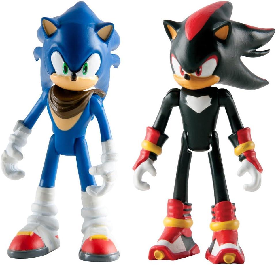 Sonic The Hedgehog - Figuras articuladas de Sonic Boom, 7,62 cm, 2 ...