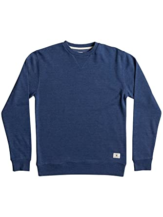 DC Rebel Crew 3 Sweatshirt in Washed Indigo (Small)