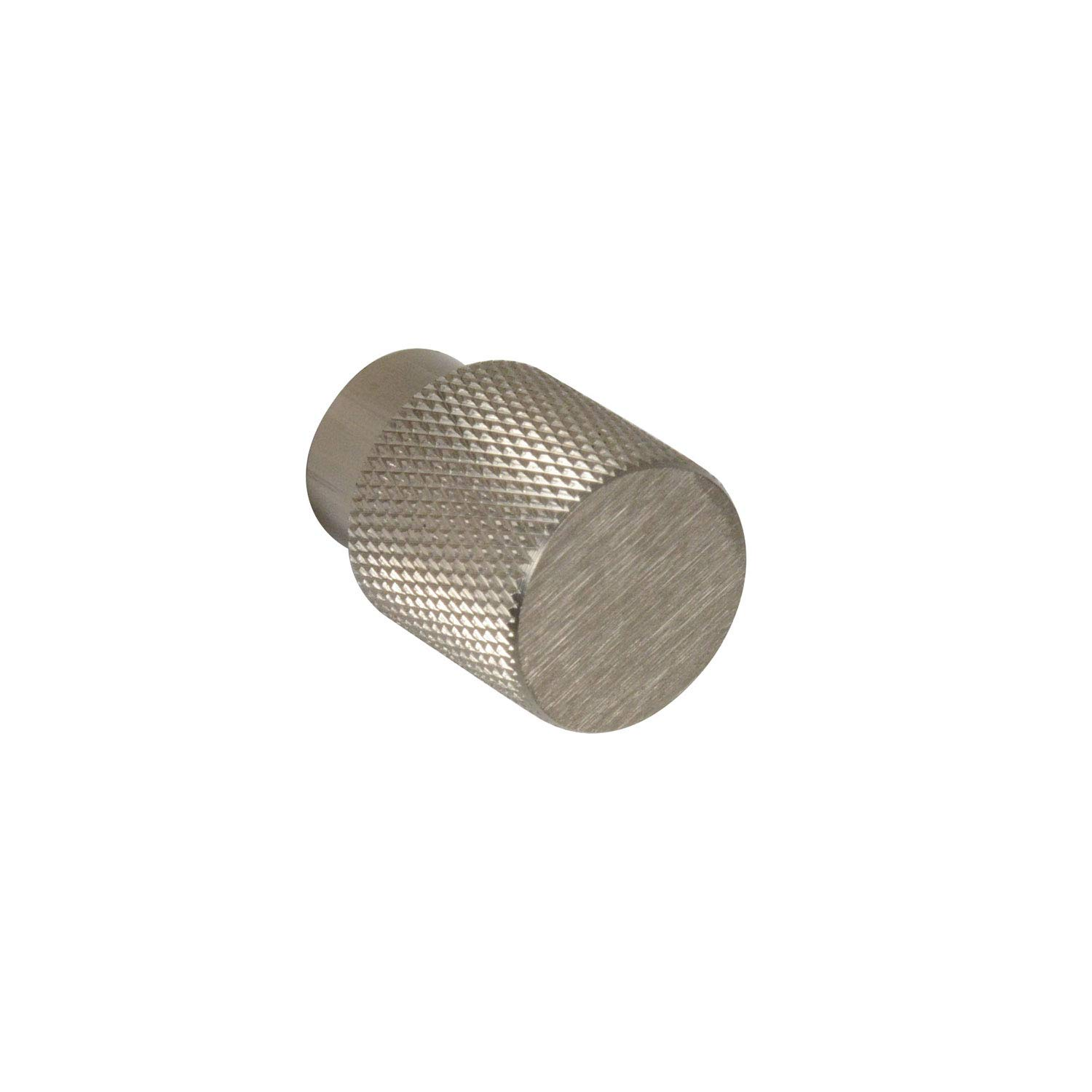 #6500 CKP Brand Linear Aluminum 3/4 in. (20mm) Knurled Knob, Brushed Nickel - 25 Pack by CKP (Image #1)