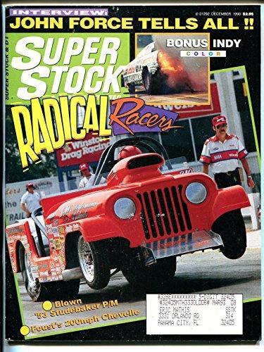 (Super Stock & Drag Illustrated 12/1990-Radical Racers-Jeep CJ-7-NHRA-IHRA-VG)