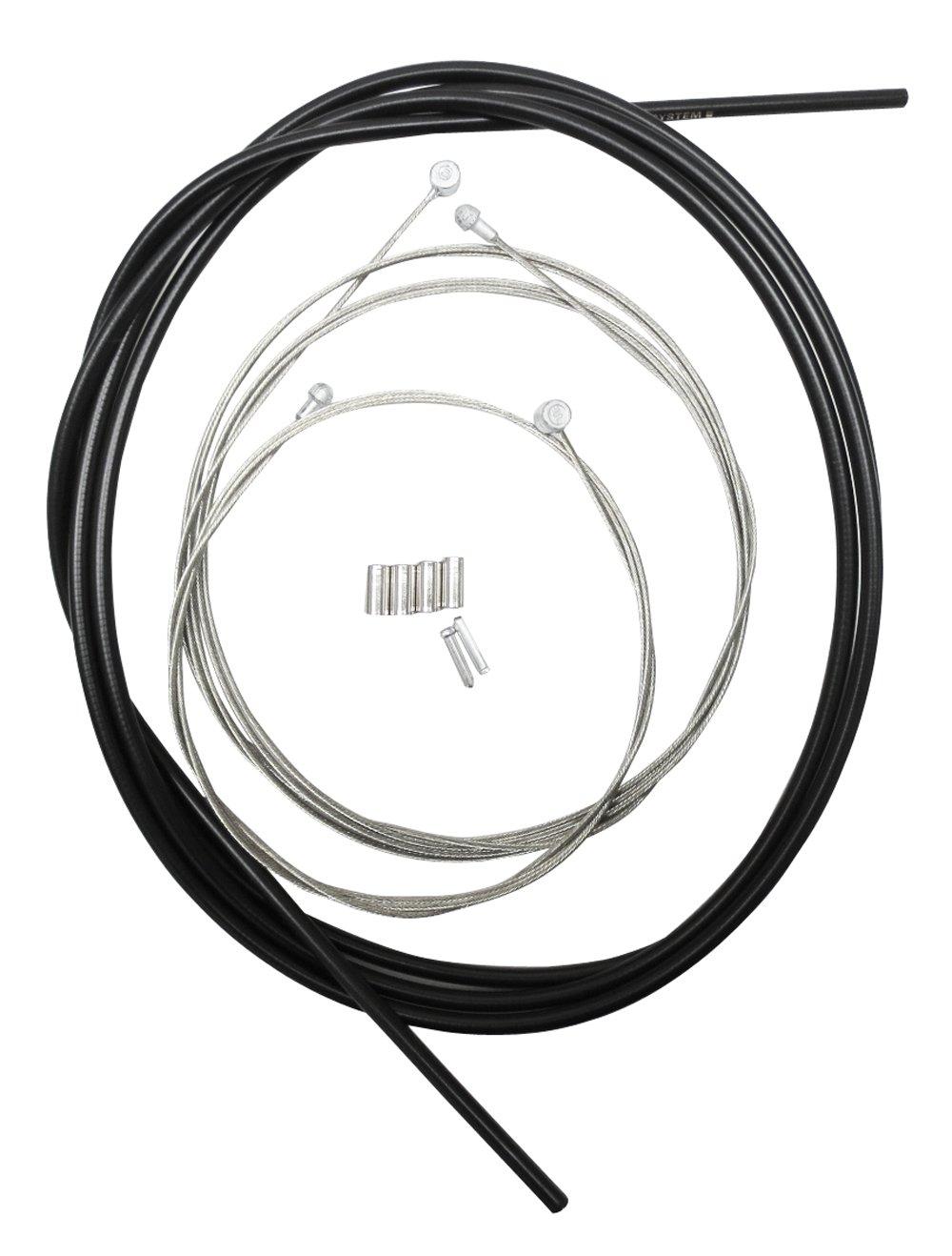 Shimano Bremskabel-set Bremszug, schwarz, Y-80098022: Amazon.de ...