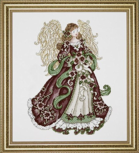 Design Works Angel of Joy, Counted Cross Stitch Picture Kit 5905, 16 by 18 inches, with Gift Card ()