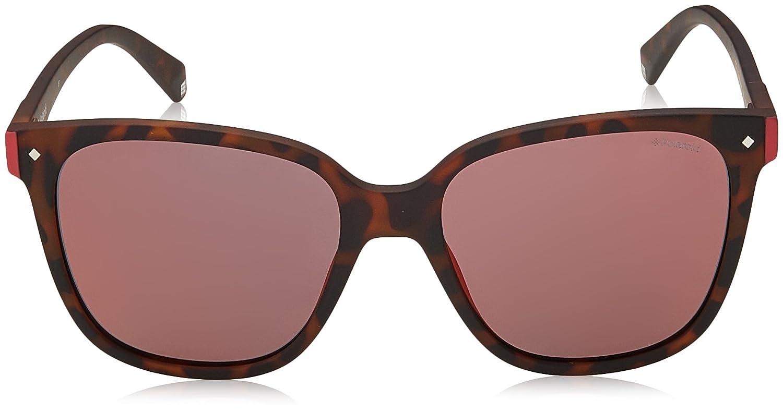 Polaroid Unisex-Erwachsene Sonnenbrille Pld 6036/S OZ N9P, Braun (Matt Havana/Brown), 53