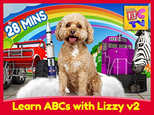 Learn ABCs with Lizzy the Dog! (Updated) (Brain Infant Learning Dvd)