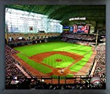 "Minute Maid Park Houston Astros MLB Photo (Size: 17"" x 21"") Framed"