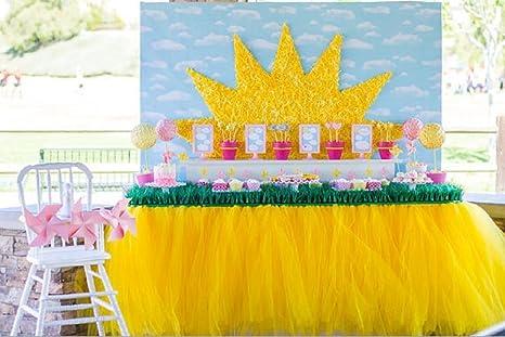 Decorazioni Da Tavolo Per Compleanno : Miraise handmade m cm gonna tutù in tulle da tavola per