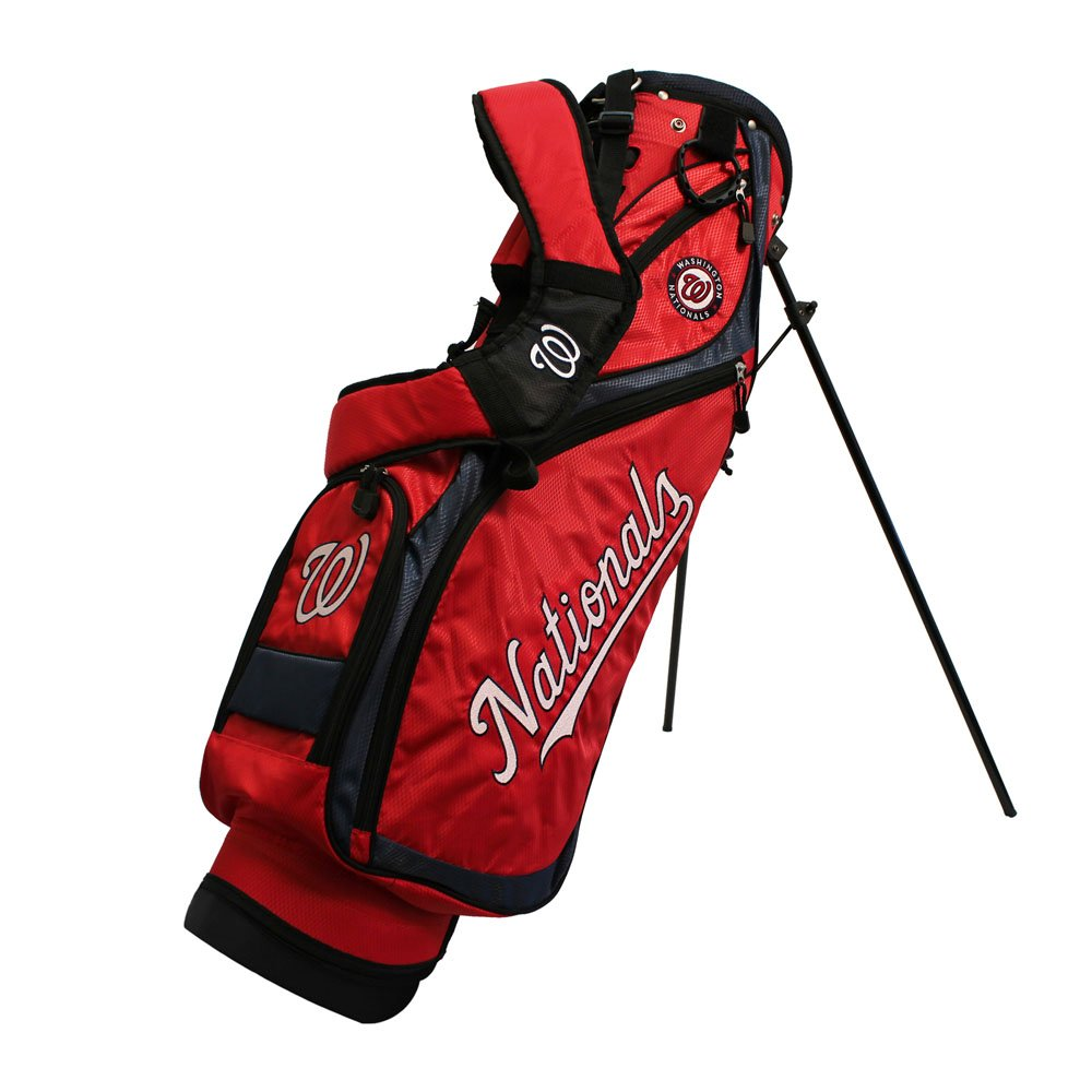 Team Golf 97927 Washington Nationals MLB Nassau Golf Stand Bag