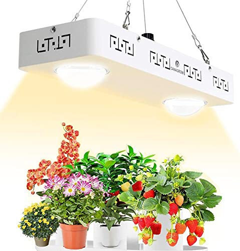HONORSEN 3000W LED Grow Light Full Spectrum Double Switch Plant Light for Hydroponic Indoor Plants Veg and Flower 10W LEDs 300Pcs
