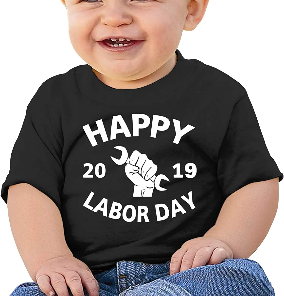 ANYE/&/&HF Happy Labor Day Baby Boys T-Shirts