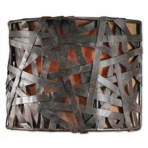Uttermost Alita 1 Light Metal Wall Sconce modern in Aged Black .by_homesquarecom it#229222183743724 -