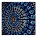 Blue Tapestry Wall Hanging Mandala Tapestries Indian Cotton Bedspread …