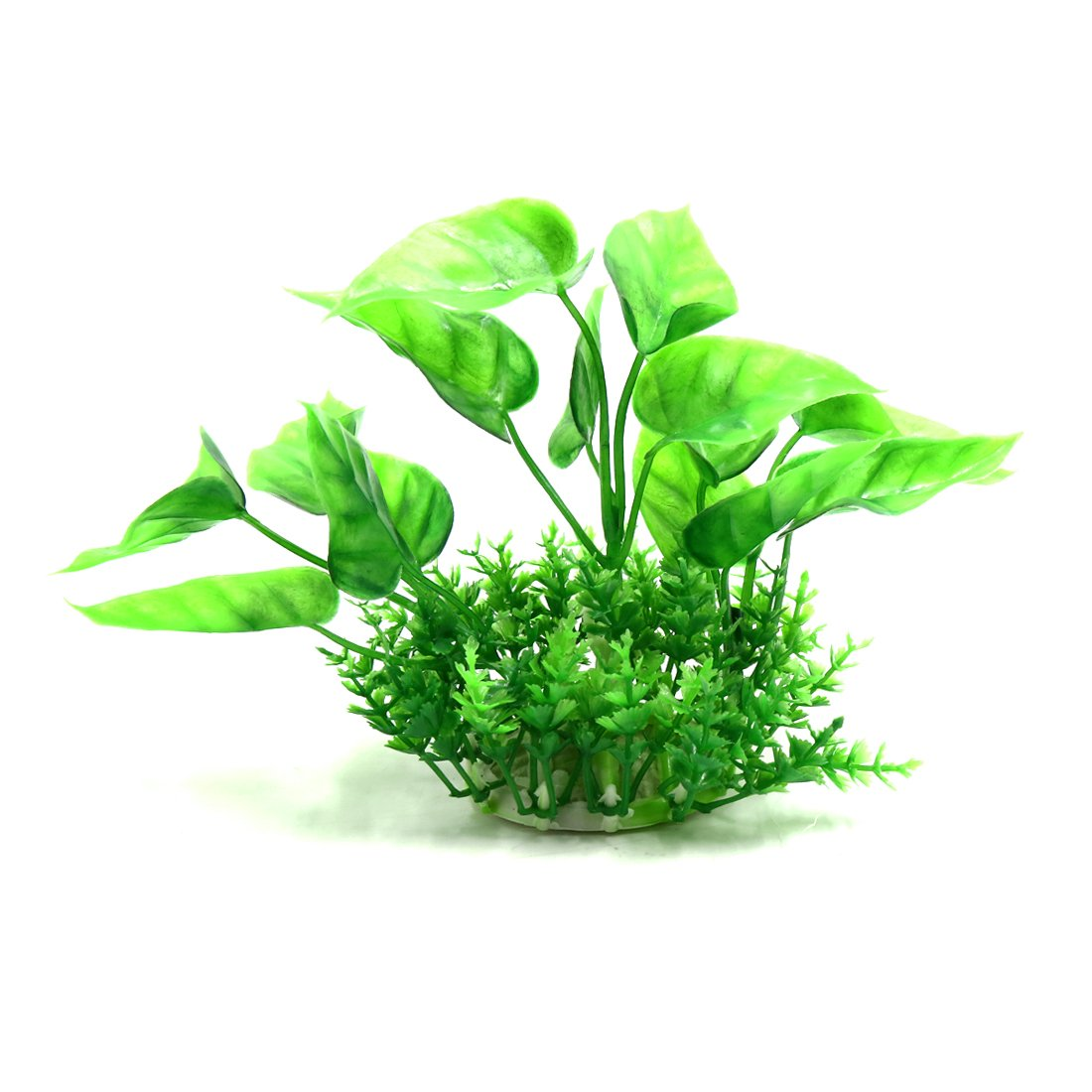 Type B uxcell® Green Plastic Plant Aqua Landscape Decoration Aquatic Habitat Decor Aquarium Accessory