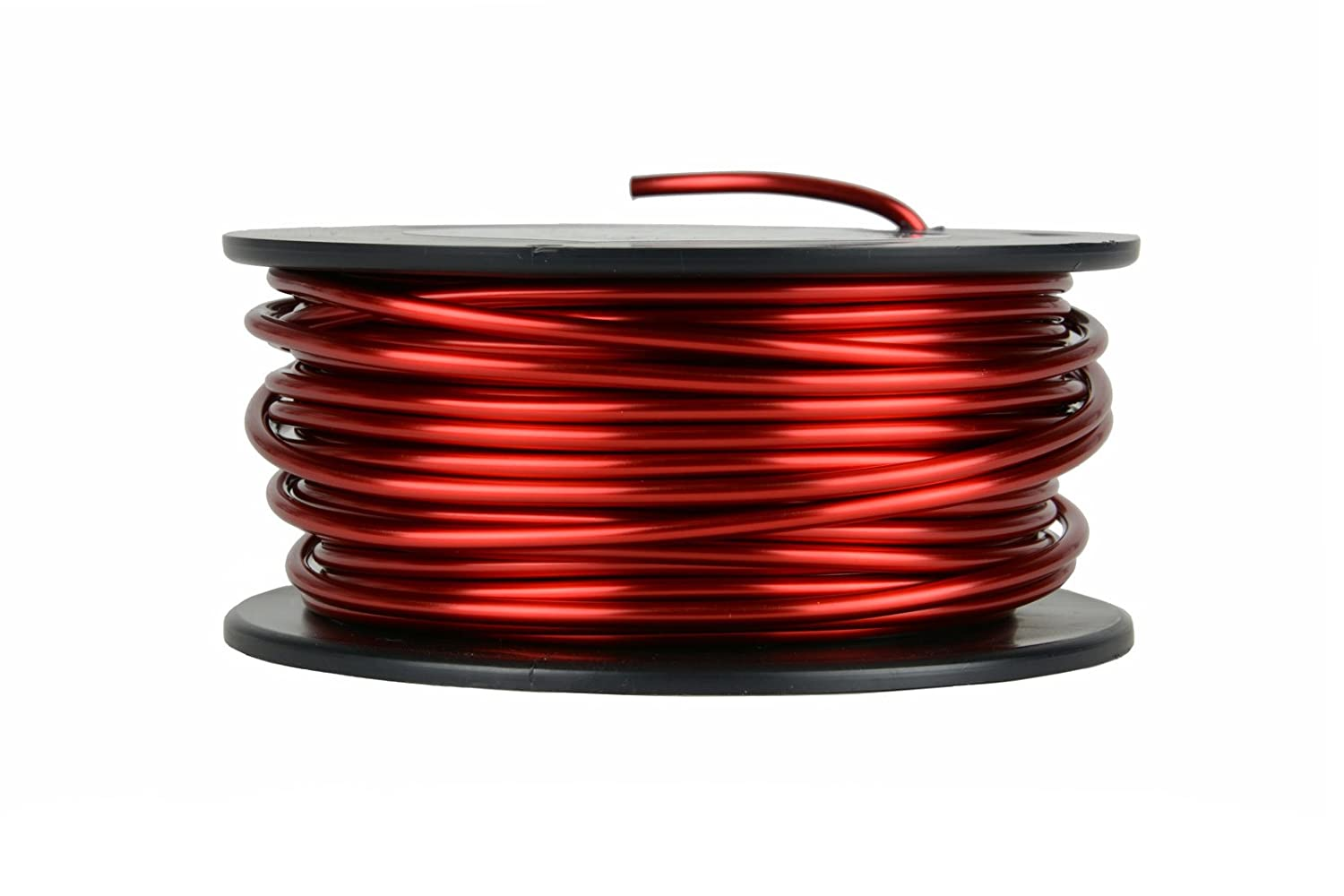 Amazon.com: TEMCo 10 AWG Copper Magnet Wire - 1 lb 31 ft 155°C ...
