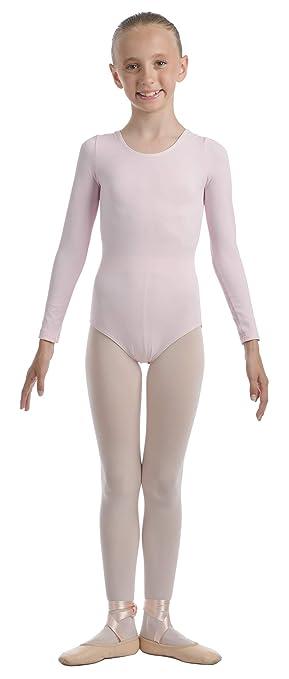 5154b4c5bd SVEVA Maillot de ballet rosa talla 1° para niña de 4-5 años  Amazon.es   Deportes y aire libre