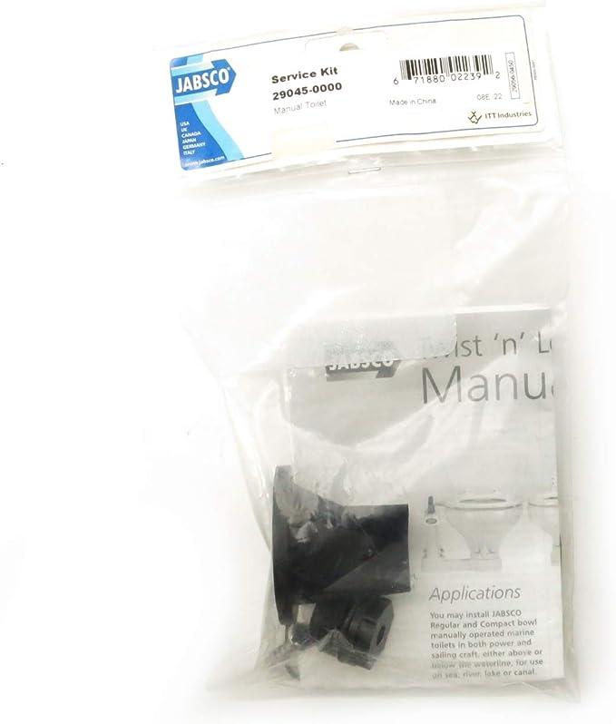 Jabsco 29045-0000 Manual Toilet Service Kit Pre-1997 PAR Toilet