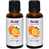 NOW Foods Essential Oils Orange -- 1 fl oz (2 pack)