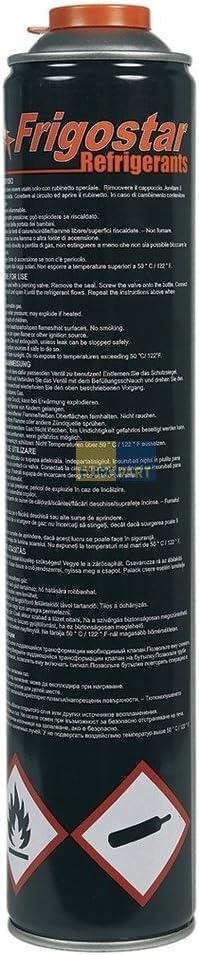 Kältemittel R 600a Isobutan 420g 750ml Einwegflasche R600 Baumarkt