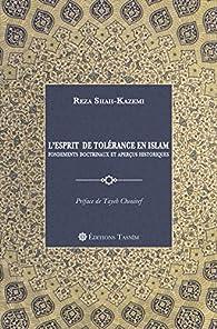 L'Esprit de tolérance en Islam par Reza Shah-Kazemi