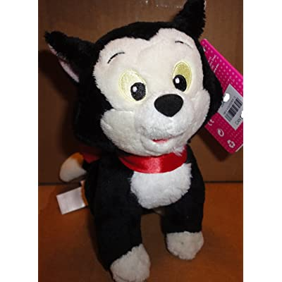 Disney Junior Minnies Pet Cat Figaro 8 Inch Bean Bag Plush: Toys & Games