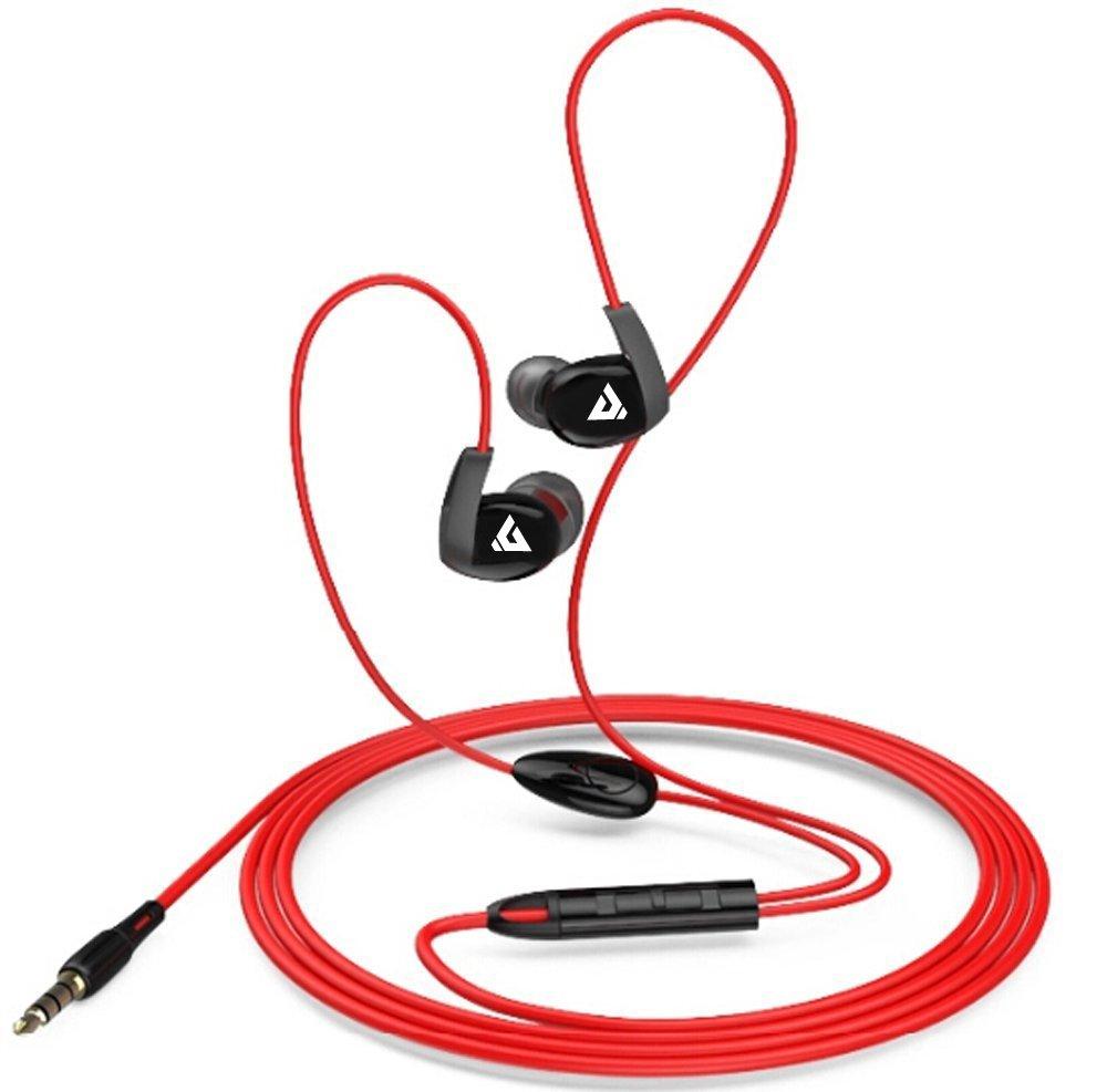 Darkiron K6 Sport Earphones Earbuds Running In Ear Headphones With Fleksible Earphone Ipad 3 Microphone And Volume Controlred Electronics