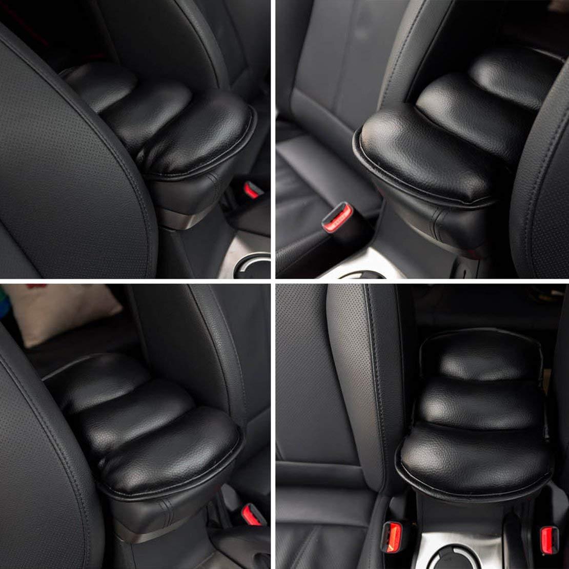 Sanzhileg Universal Super Soft PU Leather Auto Car apoyabrazos Pads Cubierta Color s/ólido veh/ículo Interior Estilo apoyabrazos Asiento Almohadilla Protectora