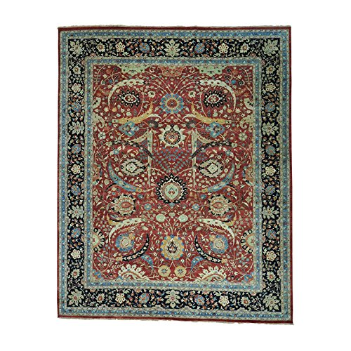 Oversize Sickle Leaf 17th Century Design Oriental Rug (12'3