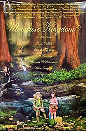 Moonrise Kingdom 2012 U.S. One Sheet Poster