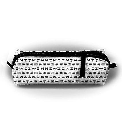 Video Games Pen Bag Makeup Pouch Zipper Box Office Organizer ...