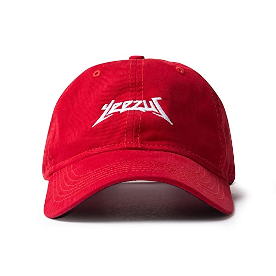 f6ccf7239347c AA Apparel Yeezus Tour Glastonbury Dad Hat Kanye West Yeezy (Red)   Amazon.in  Clothing   Accessories