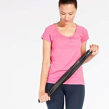 Camiseta Yoga Rosa Mujer Ilico (Talla: L)