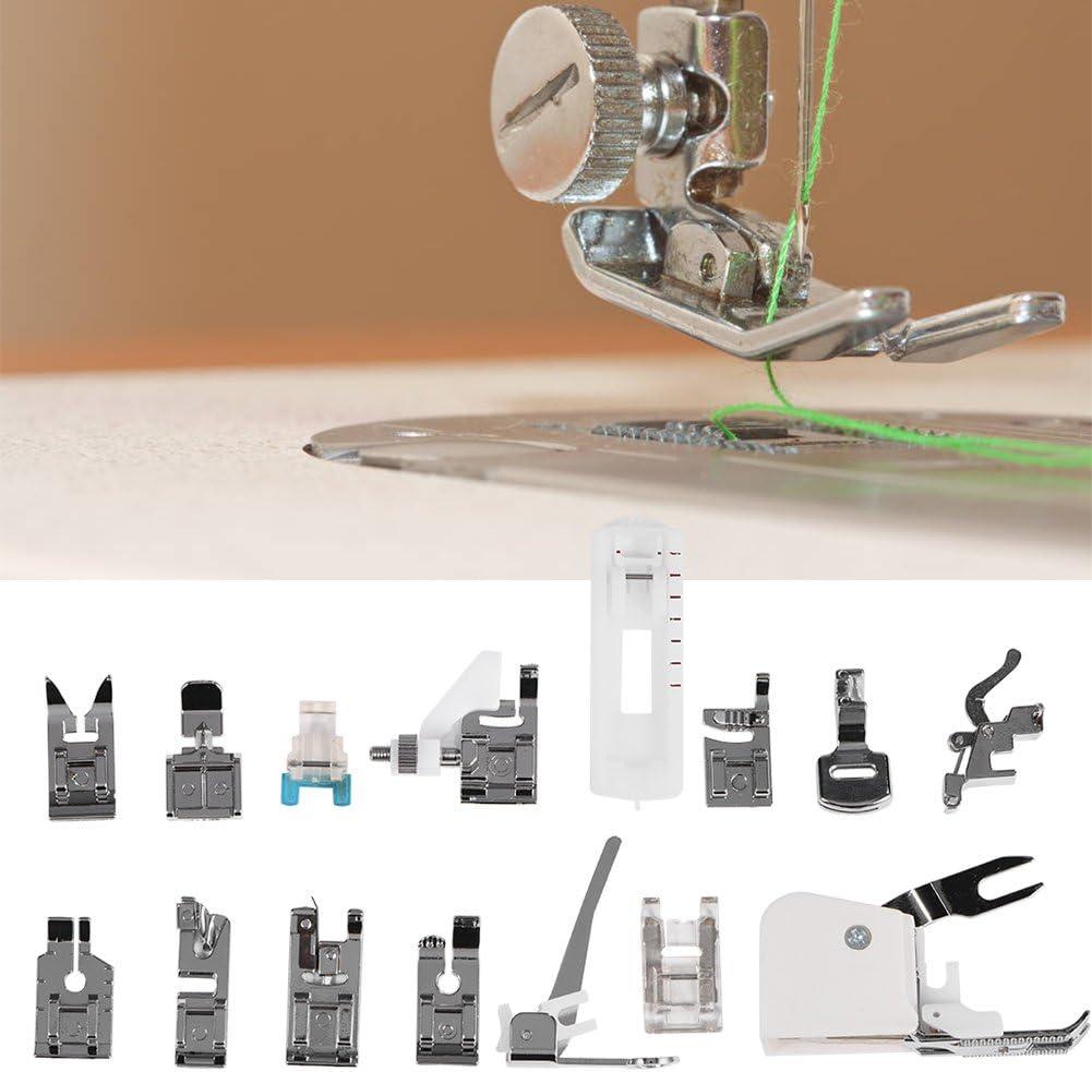 Kit de 15 Piezas Prensatelas Accesorios para Máquina de Coser ...
