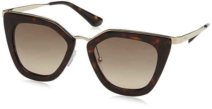 d3148b88a573 Image Unavailable. Image not available for. Colour  Prada CINEMA PR17SS  Sunglasses 2AU3D0-53 - Havana Frame