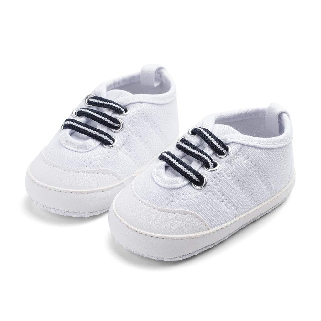 Newborn Baby Candy Color Shoes Sewing Anti-Slip First Walkers Soft Sole Shoes Voberry