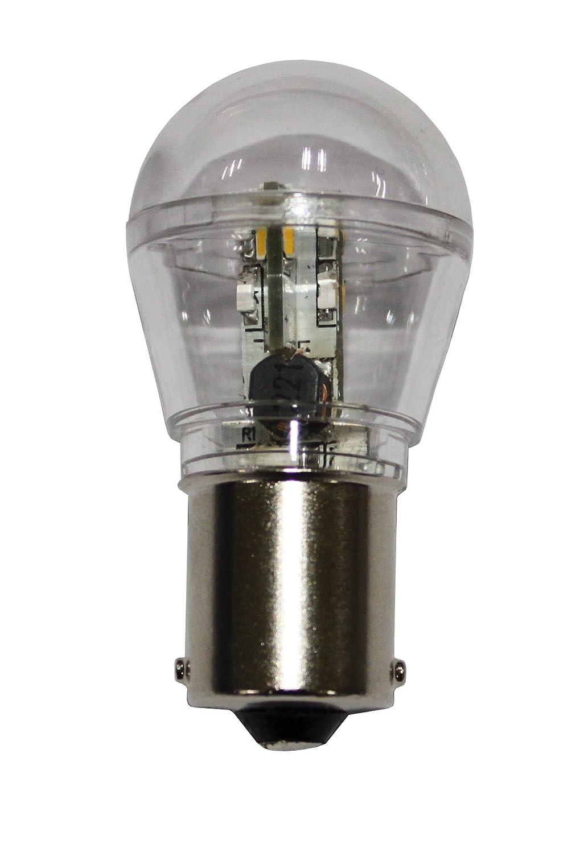 Amazon.com: Waterproof Ba15s Bayonet Base 16 SMD 3528 LED Bulb ...