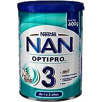 NAN Fórmula Infantil 3 Optipro, 400Gr