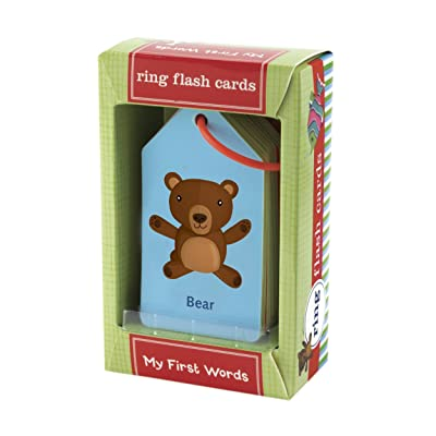 My First Words Ring Flash Cards: Mudpuppy, Ivanke & Lola: Toys & Games [5Bkhe0507409]