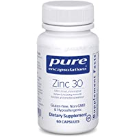 Pure Encapsulations - Zinc 30 - Zinc Picolinate (30 mg.) Highly Absorbable Hypoallergenic...