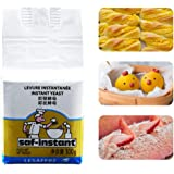 Bread Yeast 100g Instant Yeast Highly Active Long-Term Use Active Dry Yeast Kitchen Baking Accessory