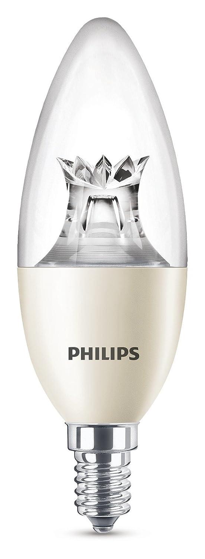 Philips LED WarmGlow Lampe ersetzt 60 W dimmbar Kerze warmglow E14 8718696555972 806 Lumen 2200-2700K